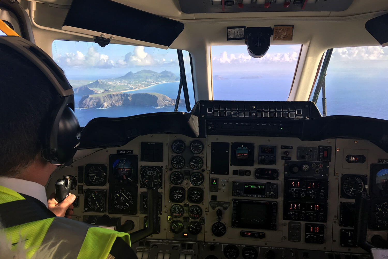 Cockpit Avião