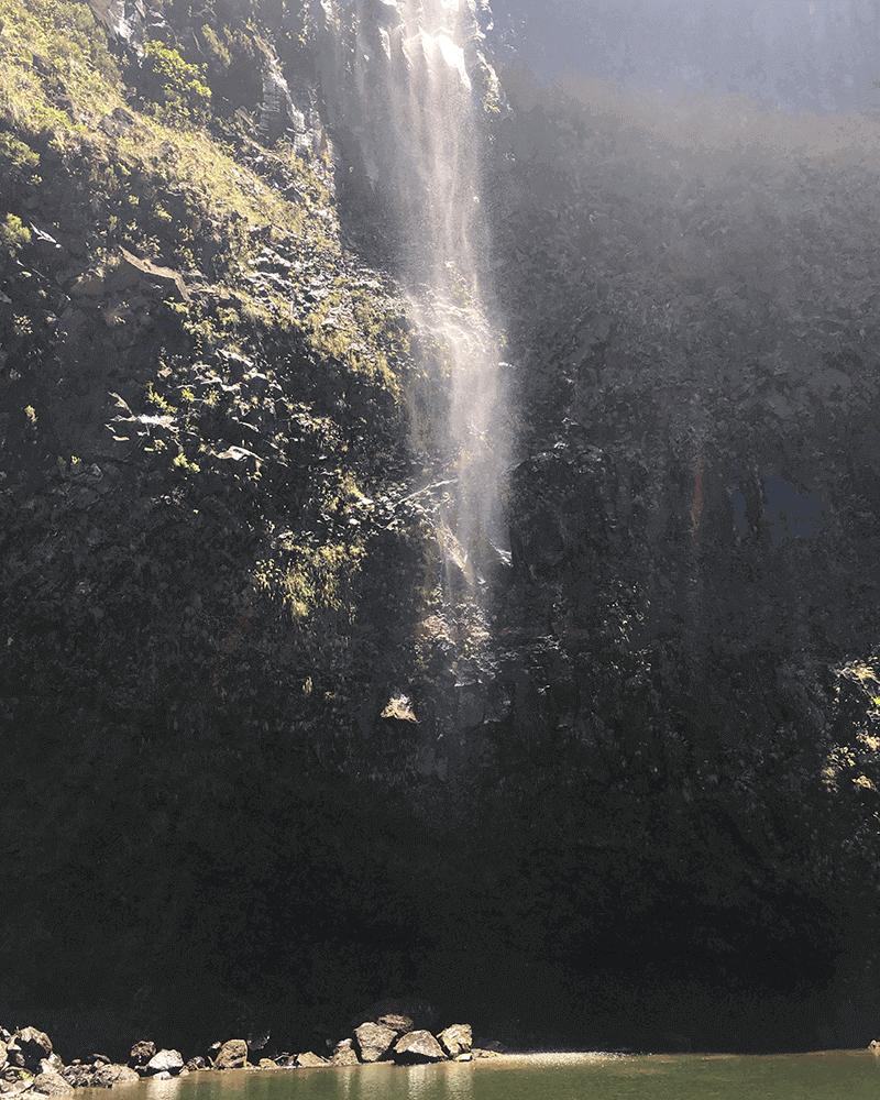 Lagoa do Vento na Levada do Alecrim - Local Escondido da Ilha da Madeira