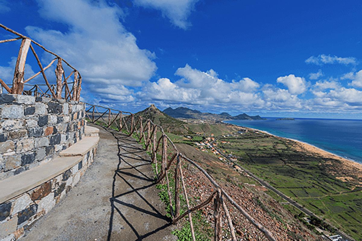 Miradouro das Flores - Ilha do Porto Santo