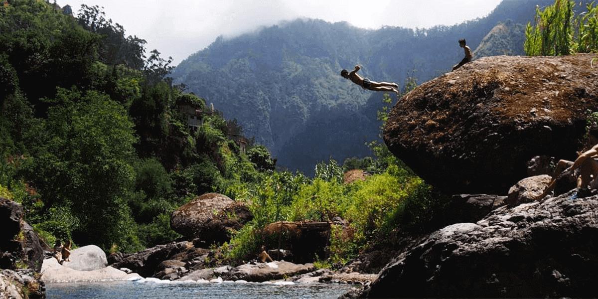 Poço dos Chefes, Curral das Freiras - Locais Escondidos da Ilha da Madeira