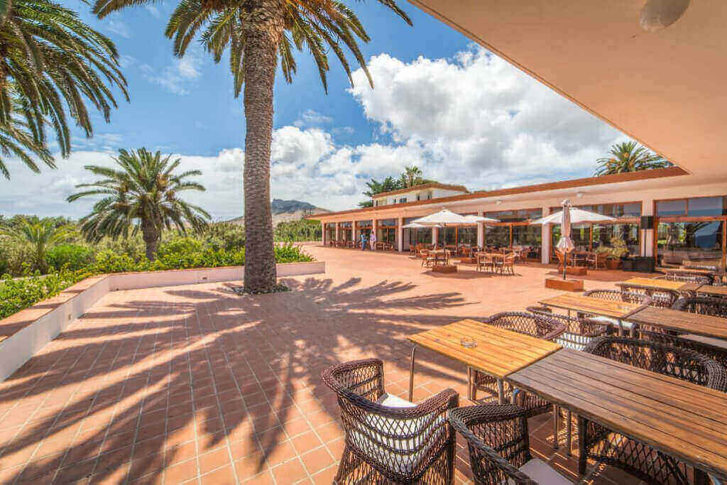 Vista de Esplanada do Porto Santo Hotel & Spa