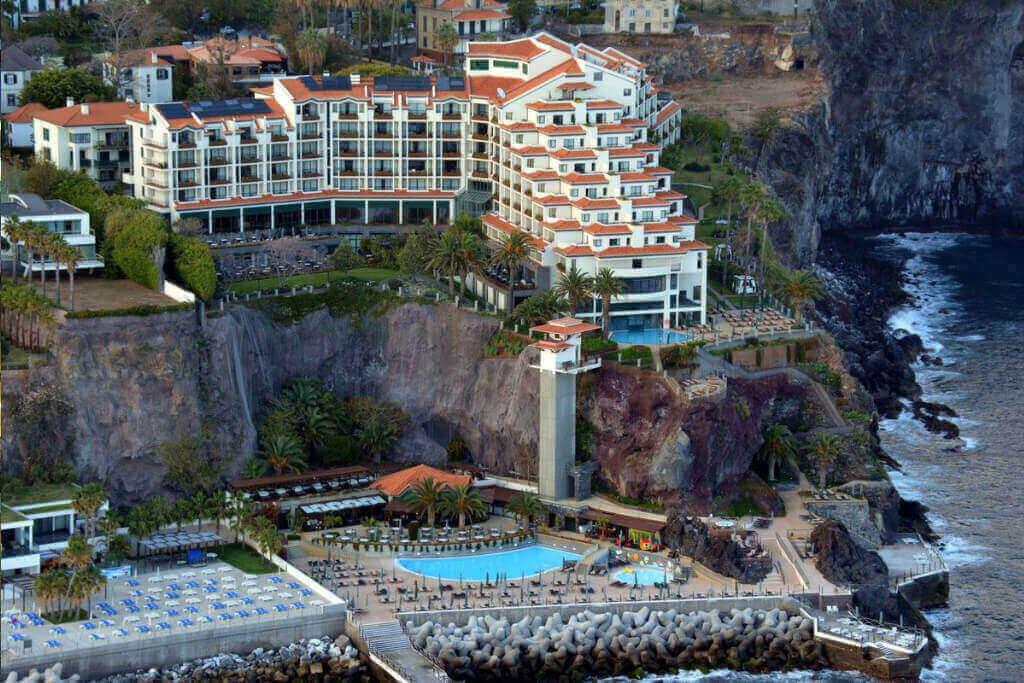 Vista Exterior do Hotel Porto Cliff Bay Madeira